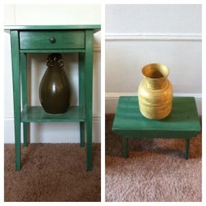 table stool set